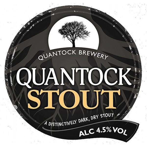 Quantock Stout Pump Clip