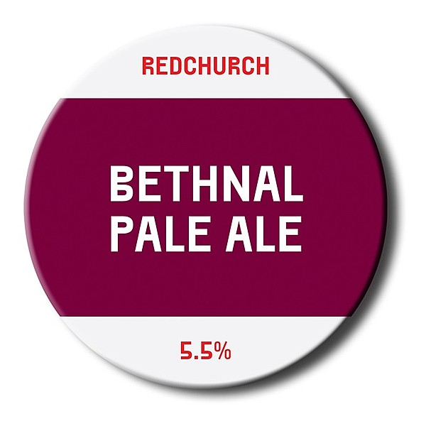 Bethnal Pale Ale Round Badge