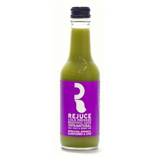 Rejuce Spinach, Spirulina Elderflower&Lime