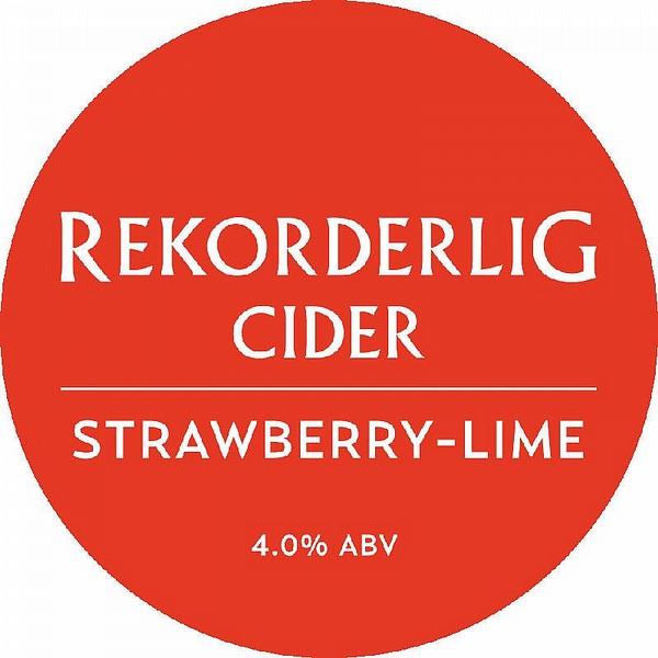 Rekorderlig Strawberry & Lime