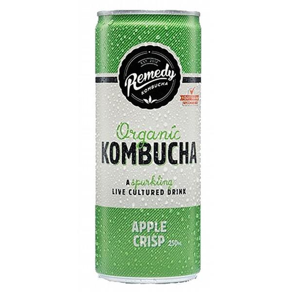 Remedy Apple Crisp Kombucha Cans