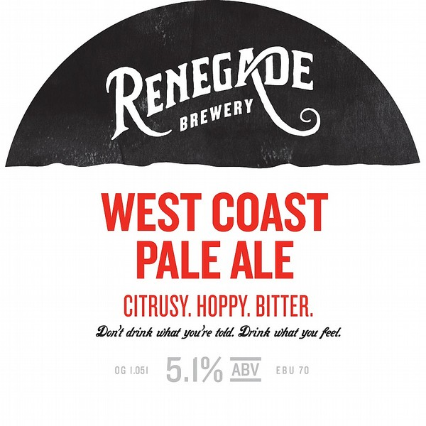 Renegade West Coast Pale Ale