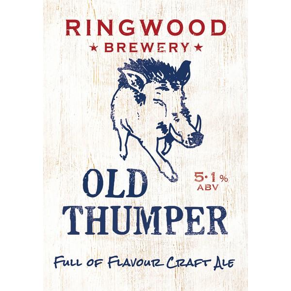 Ringwood Old Thumper  Pump Clip