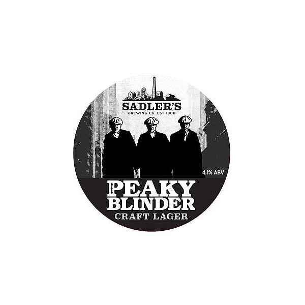 Sadler's Ales Peaky Blinder Craft Lager