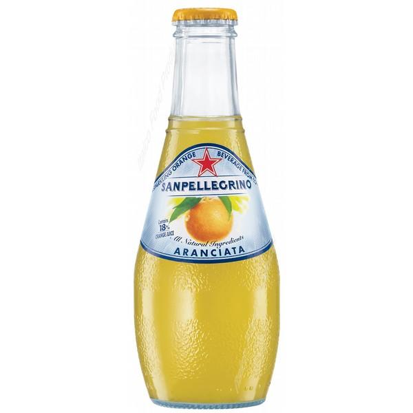 San Pellegrino Orange Bottles