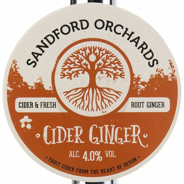 BIB Sandford Orchards Cider Ginger