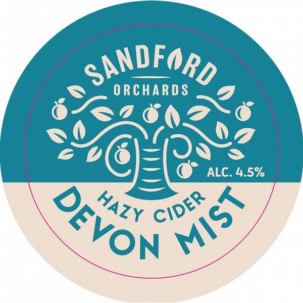 Sandford Orchards Devon Mist Pump Clip