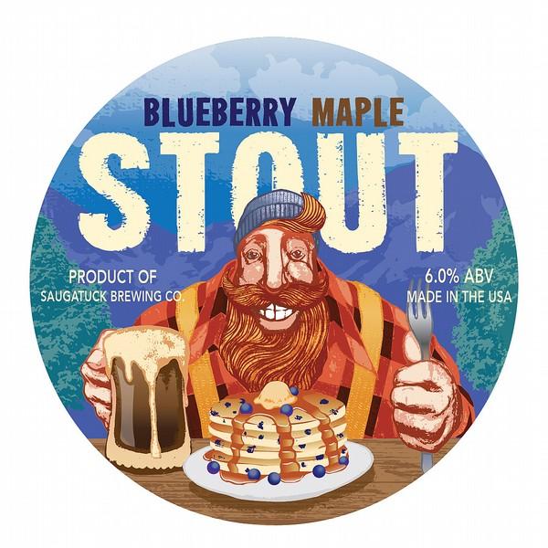 Saugatuck Blueberry Maple Stout