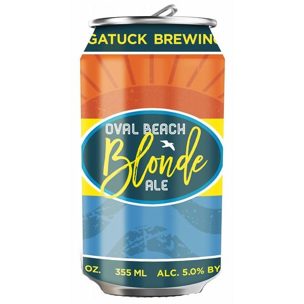 Saugatuck Oval Beach Blonde  Cans