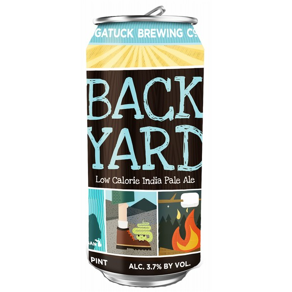 Saugatuck Backyard IPA  Cans
