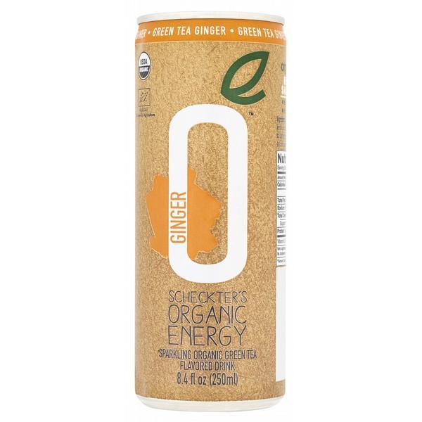 Scheckters Organic Energy Green Tea&Ginger