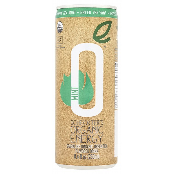 Scheckters Organic Energy Green Tea & Mint