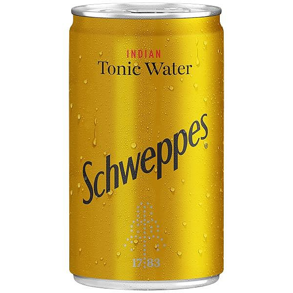 Schweppes Tonic Water Travel Cans