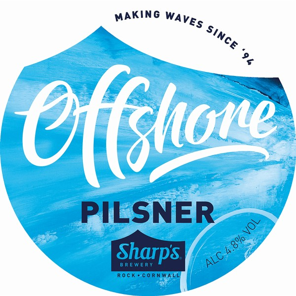 Sharps Offshore Pilsner
