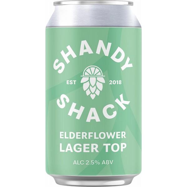 Shandy Shack Elderflower Lager Top