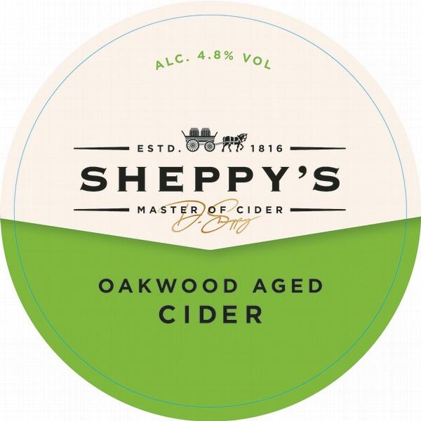 Sheppy's Oakwood Oval Fisheye Badge