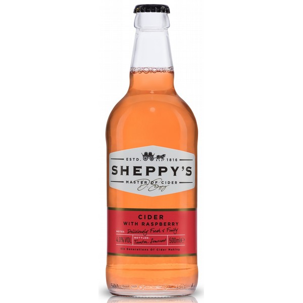 Sheppy's Cider with Raspberry
