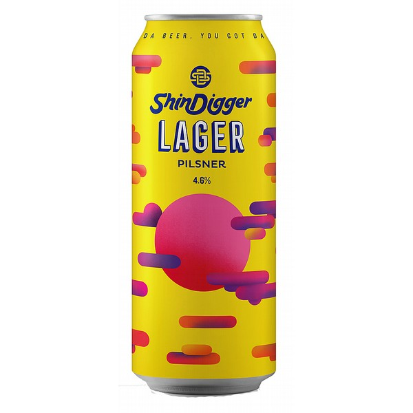 Shindigger Brewing Co Lager Cans