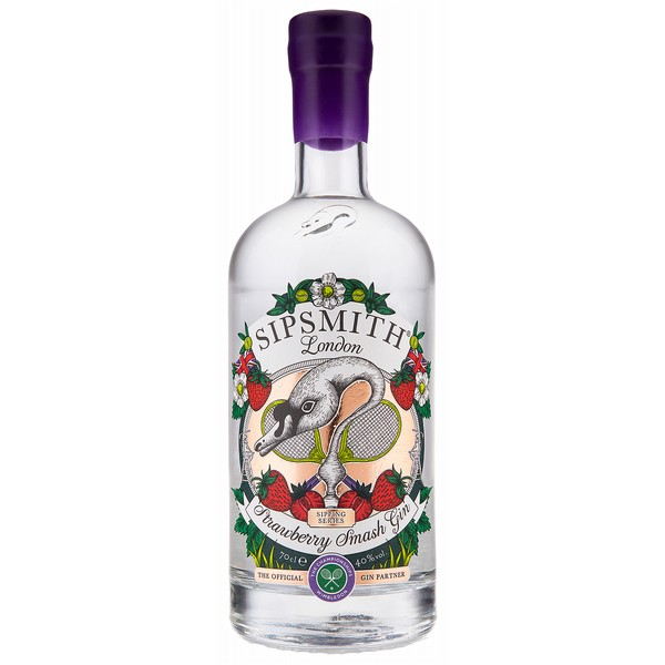 Sipsmith Strawberry Smash Gin