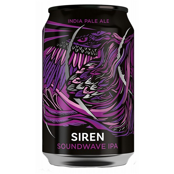 Siren Soundwave Cans