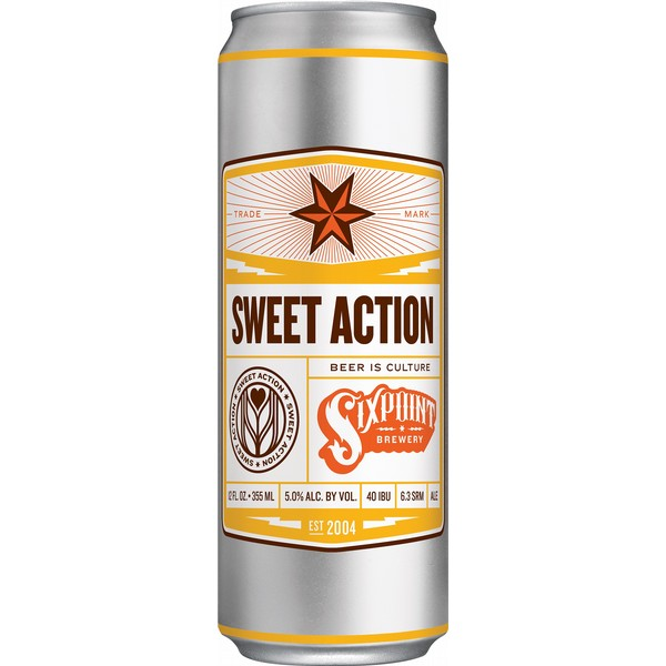 Sixpoint Sweet Action Pale Ale Cans