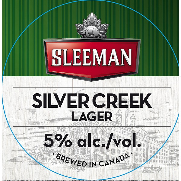 Sleemans Silver Creek Lager