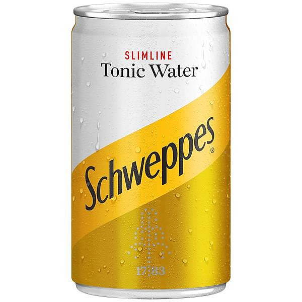 Schweppes Slimline Tonic Travel Cans