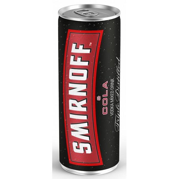 Smirnoff & Cola Cans
