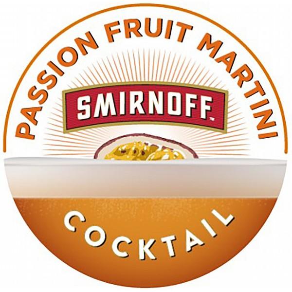Smirnoff Passionfruit Martini 10L