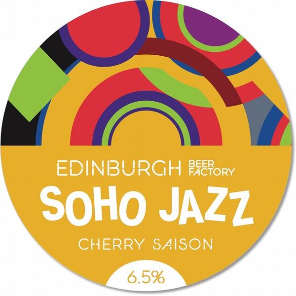 EBF Soho Jazz Cherry Saison Round Badge