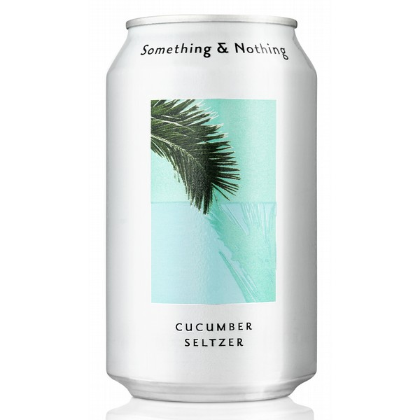 Something & Nothing Cucumber Seltzer