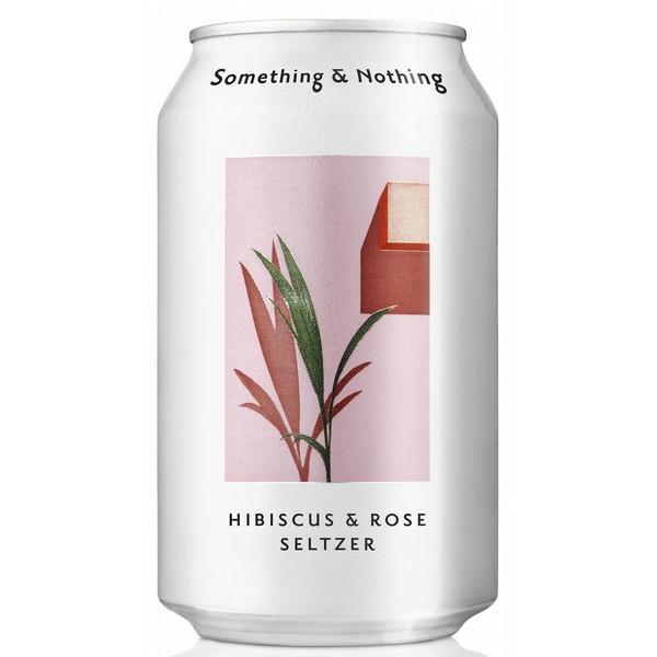 Something & Nothing Hibiscus Rose Seltzer