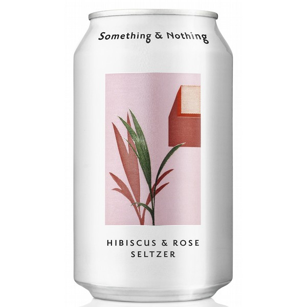 Something & Nothing Hibiscus Rose Seltzer