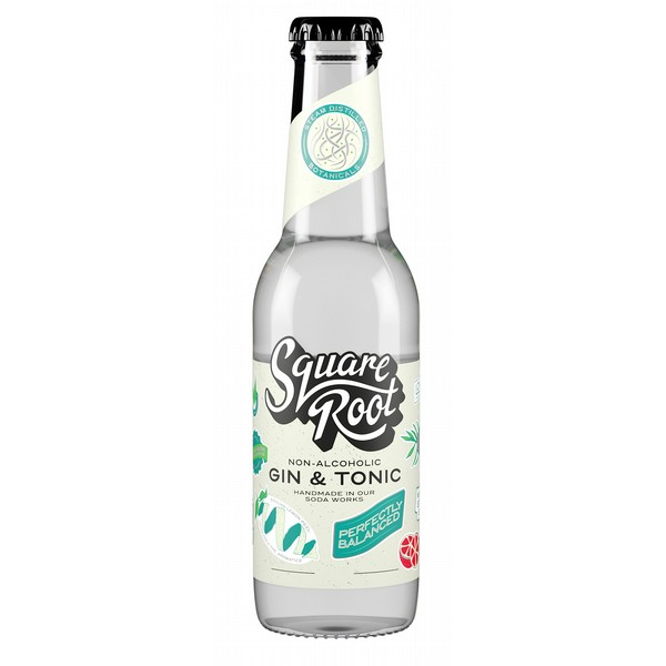 Square Root Non-Alcoholic Gin & Tonic