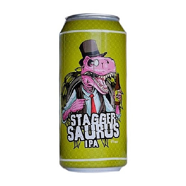 Staggersaurus IPA Cans