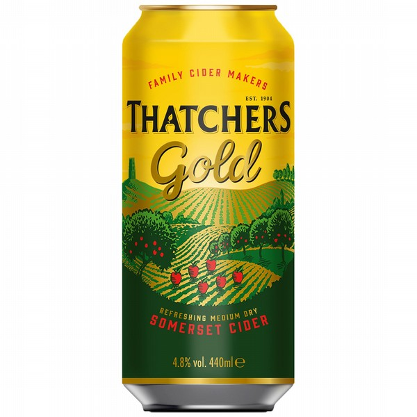 Thatchers Gold Cider Cans