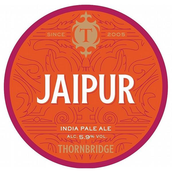 Thornbridge Jaipur Round Flat Tap Badge