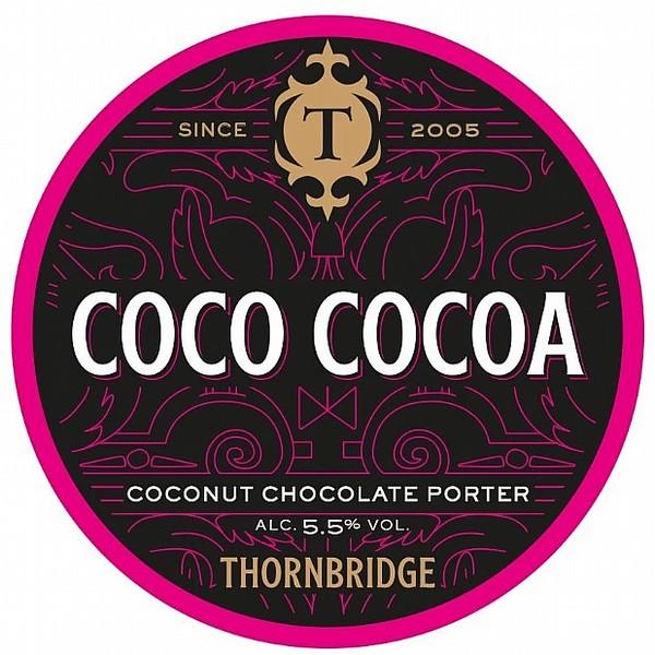 Thornbridge Cocoa Wonderland Round Badge