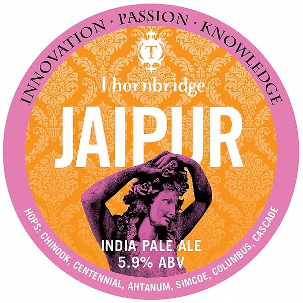 Thornbridge Jaipur Round Flat Tap Badge