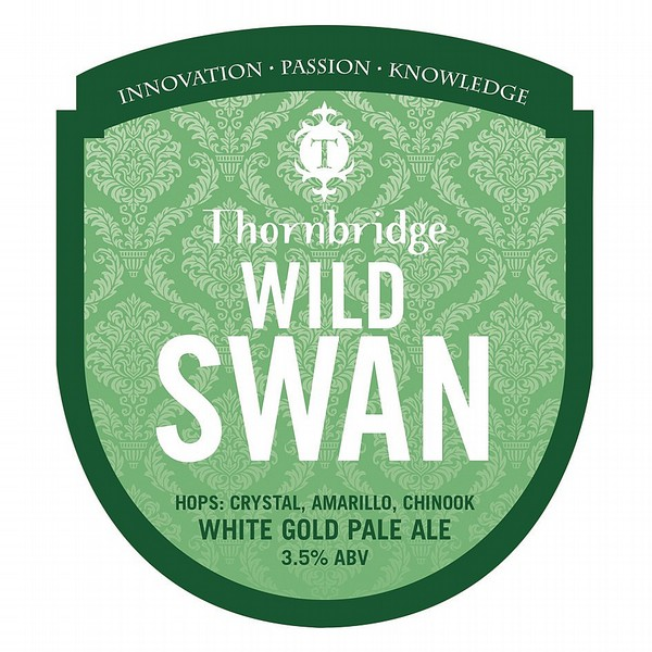 Thornbridge Wild Swan Pump Clip