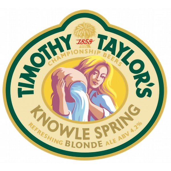 Timothy Taylor's Knowle Spring Blonde Cask