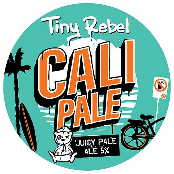 Tiny Rebel Cali Pale Round Flat Badge