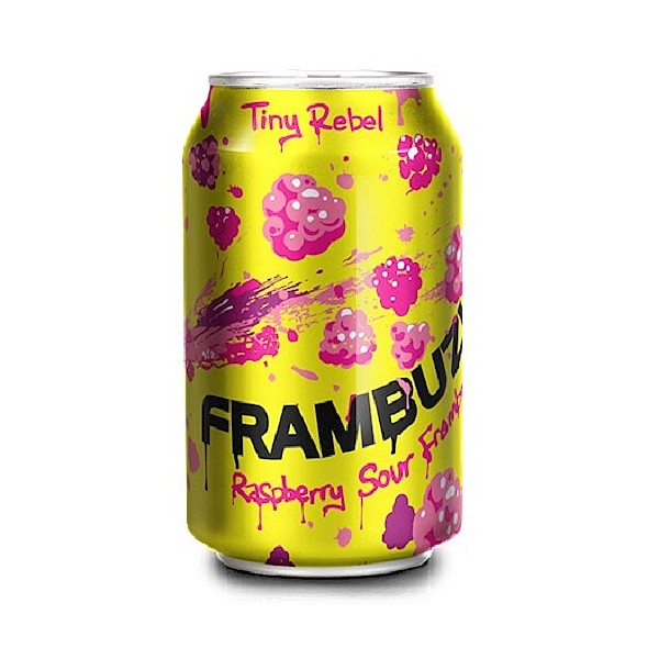 Tiny Rebel Frambuzi Raspberry Sour Cans