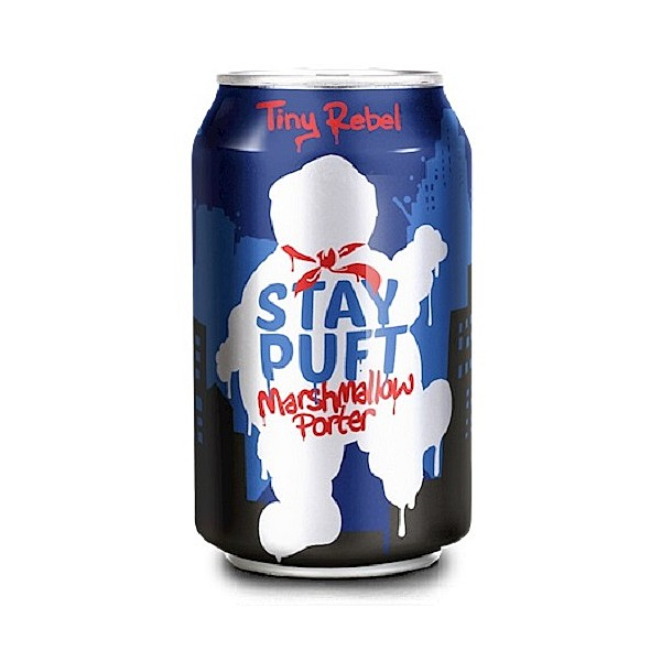 Tiny Rebel Stay Puft Marshmallow Cans