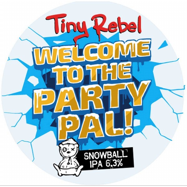Tiny Rebel Welcome to the Party Pal! IPA