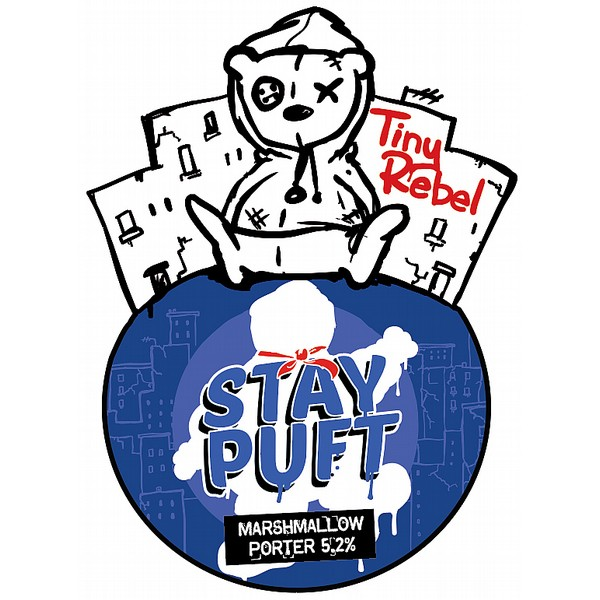 Tiny Rebel Stay Puft Cask