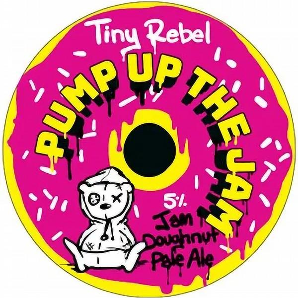 Tiny Rebel Pump Up The Jam Round Badge