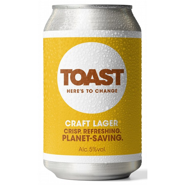 Toast Craft Lager Cans