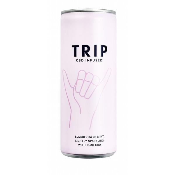 TRIP Elderflower & Mint - CBD Infused