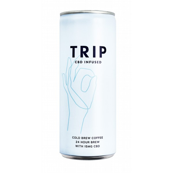 TRIP Cold Brew Coffee - CBD Infused